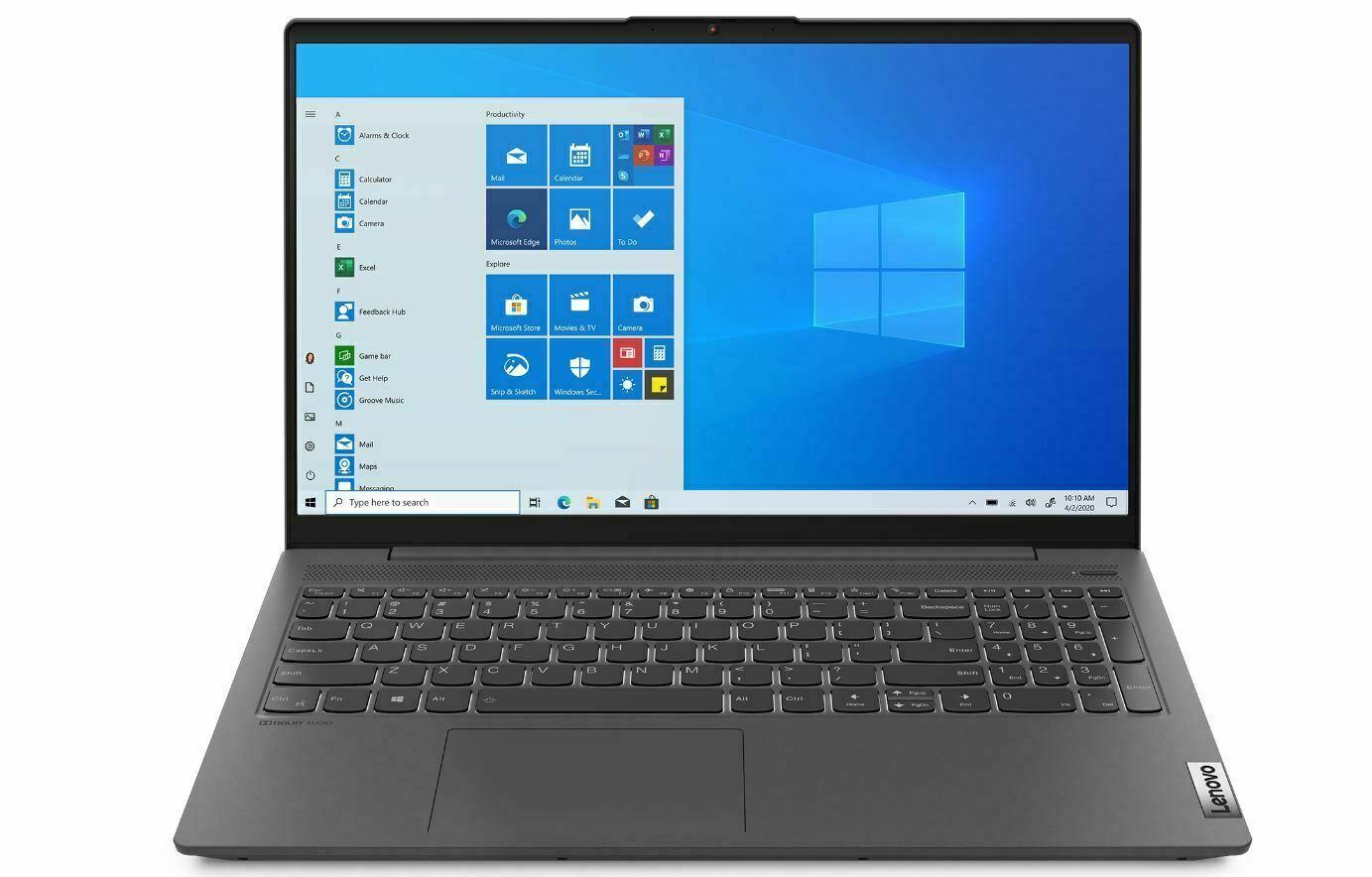 "Lenovo IdeaPad 5 15"" 81YK00CGUS Laptop 10th gen i5, 16 GB, 5"