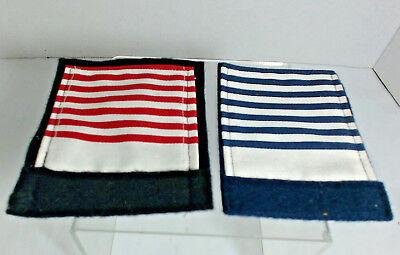Lot of 2 Vintage saddle pads blankets for trad. Breyer  horses