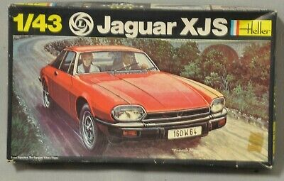 Heller Jaguar XJS 1/43 #183 Open box but unbuilt.