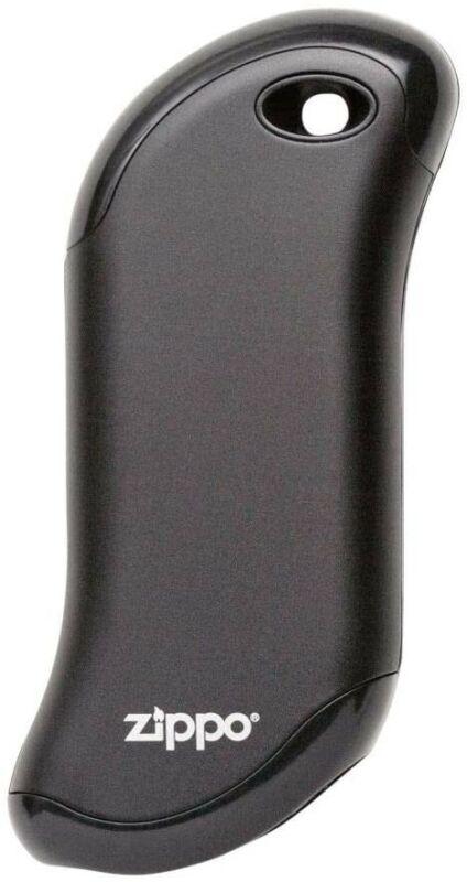 Zippo Black Heatbank 9s Rechargeable Hand Warmer and Power Bank
