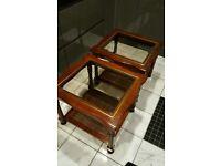 Beautiful Antique Italian furniture Coffee/Lamp table X2