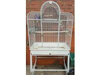 Open top Parrot Cage and stand