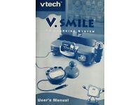 Child's games console - Vtech V.Smile learning system