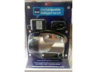 Rechargeable halogen torch super bright spotlight