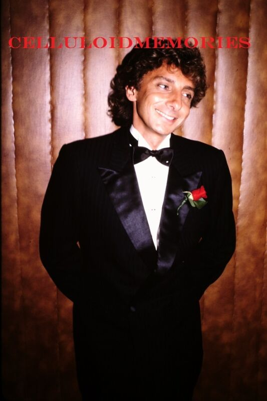 Original 35mm Slide Barry Manilow # 2