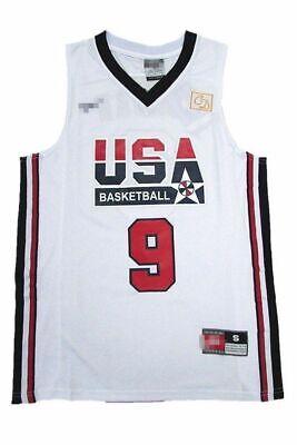 Michael Jordan Jersey 1992 USA Dream Team Olympic Blue White Basketball Jersey