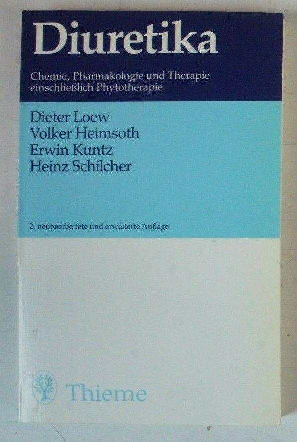 Diuretika Loew Heimsoth Kuntz Schilcher Thieme 2. Auflage B-13791