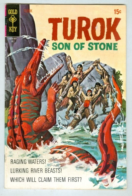 Turok: Son of Stone #70 July 1970 FN-
