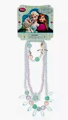 Disney Store Frozen Anna and Elsa Costume Jewelry Necklace Bracelet New 3 - Frozen Elsa And Anna Costume