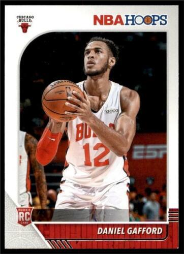 2019-20 Panini NBA Hoops RC Base #243 Daniel Gafford - Chica
