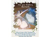 Wedding favours £1.50