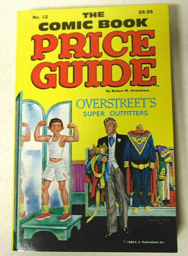 Overstreet Comic Book Price Guide #12 NM 1982 Pop Hollinger Story Softcover