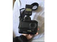 Nikon F5 35mm SLR Film Camera With Speedlight SB-28 Flash & Nikon 28-80mm Lens