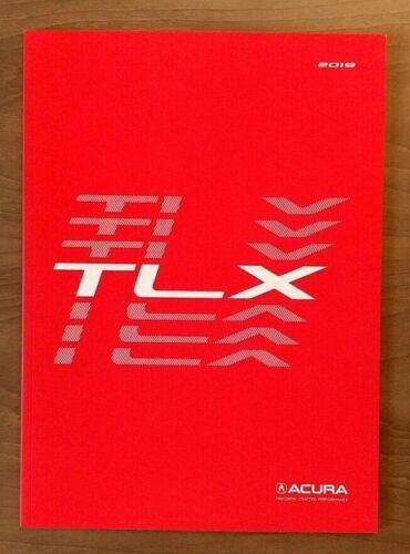 2019 ACURA TLX Sales Brochure Catalog US 19 V6 SH-AWD A-Spec