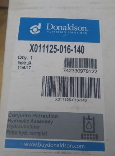 Donaldson X011125-016-140 - HYDRAULIC FILTER HOUSING