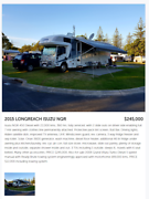 Longreach Motor Home, 2015. Deal of the year Tweed Heads South Tweed Heads Area Preview