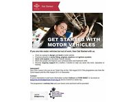 FREE Motor Vehicles Course for 16-25s