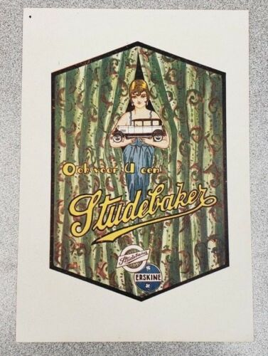 1928 Studebaker Erskine Sales Folder (French)