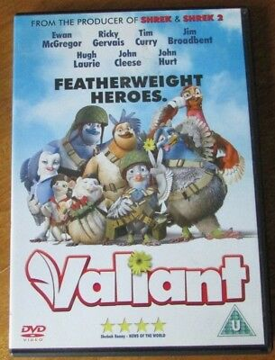 Valiant - Region 2 dvd - (animated) homing pigeon hero