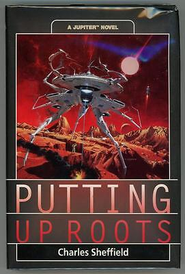 Putting Up Roots  A Jupiter Novel By Charles Sheffield 1St Edition  High Grade
