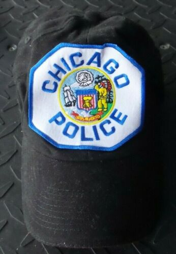 Chicago Police CPD Baseball Cap Embroidered Logo Patch Stretchable Back One Size