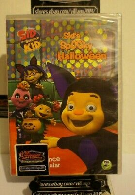 Sid the Science Kid: Sid's Spooky Halloween    NEW DVD FREE SHIPPING!!](New Kid Halloween Movies)