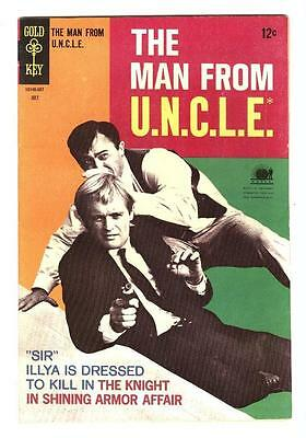 Man From Uncle 19  Vf   Knight In Armor Affair  Free Shipping With Bin