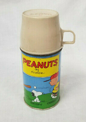Vintage Half Pint Peanuts Thermos