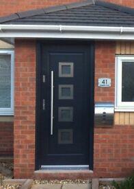 Brand New Grey Composite Anti Theft Front Door