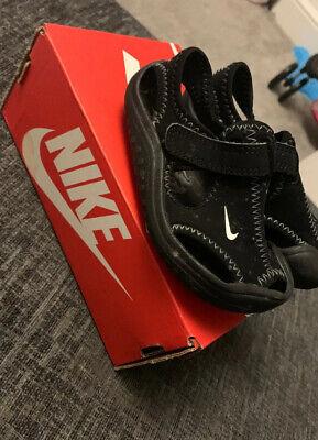 Nike Black  sandals uk infant 6
