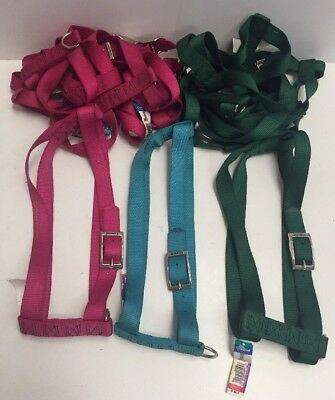 """Lot Of 10 Coastal Pet Products 32"""" Adjustable Nylon Dog Harness NWT Made In USA"""