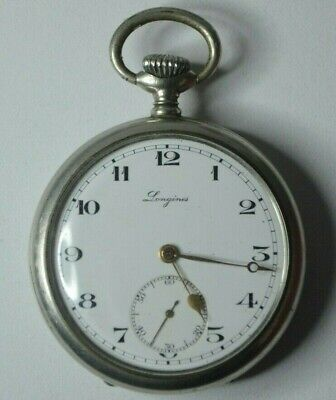 Old Longines Pochet Watch In Very Good Condition