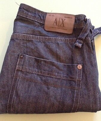 ARMANI EXCHANGE JEANS SIZE 32 X 31 HEM WEAR STILL GOOD USED (Armani Exchange Mens Wear)