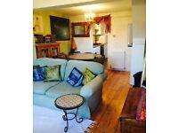 2 bed terraced cottage in New Road, central Lewes
