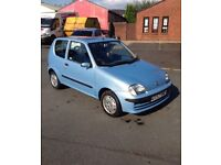 FIAT SEICENTO SX 1.1 QUICK SALE!! MUST READ ONO OFFER ME BARGAIN!!