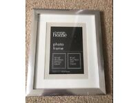 George home Silver photo frame - brand new & sealed Bargain at £2