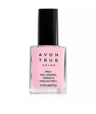 Avon True Color Pro+ Nail Enamel - *Pastel Pink* Polish - NIB - Strengthens
