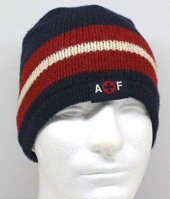 Abercrombie & Fitch Navy Blue Winter Hat