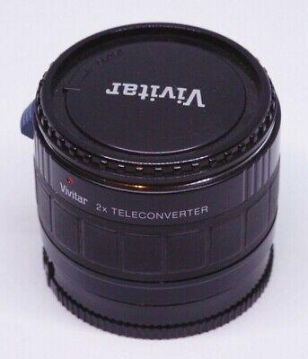 Teleconverter Vivitar 2x for Sony A-mount