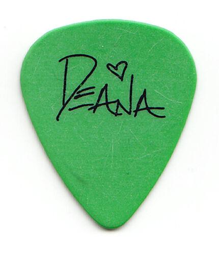 Deana Carter Signature Green Guitar Pick - 1996 Tour