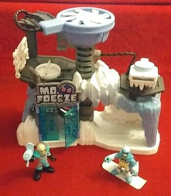 Fisher Price Imaginext DC Super Friends Mr Freeze Headquarters Arctic Fortress