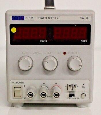Tti Linear Regulated Dc Power Supply El155r