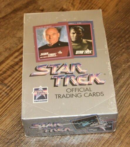 1991 SEALED IMPEL STAR TREK TRADING CARDS - NEW TNG ORIGINAL SERIES BOX 25TH