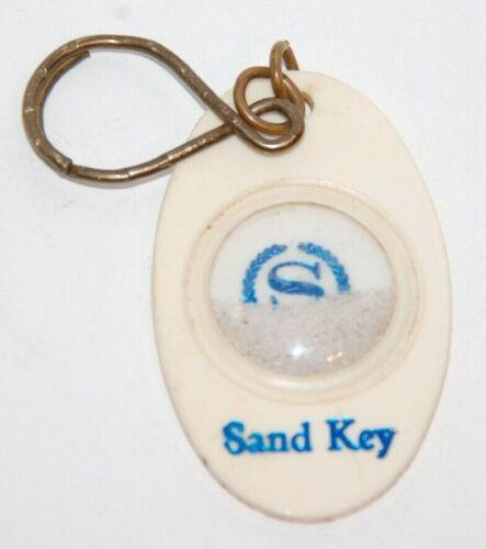 Vintage SHERATON SAND KEY HOTEL Room Fob with Real Florida Beach Sand
