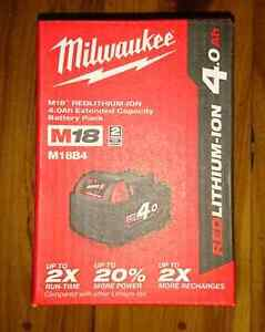 Milwaukee m18 4ah battery new Moorebank Liverpool Area Preview