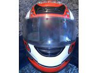 Takachi full face motorcycle helmet