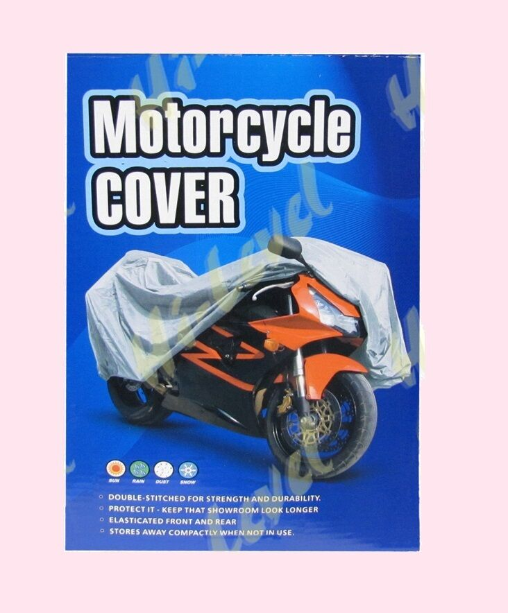 271873 Large  Motorcycle Rain Cover fits up to 1200cc  with Screen