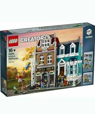 Lego Creator Expert 10270 Bookshop Brand New Sealed Unopened Small Box Damage