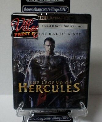 The Legend Of Hercules [New 4K UHD Blu-ray] With Blu-Ray, 4K Mastering,  (Movie Hercules 2017)