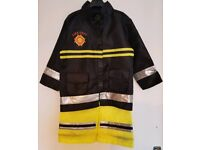Firefighter dress up / costume, Mothercare, aged 3-6 years; able to post